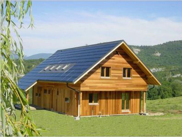 energy positive house, France